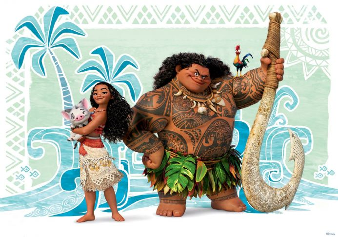 Moana paper wallpaper | Homewallmurals